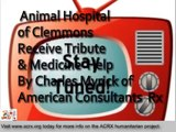 Medicine Assistance Donated to Animal Hospital of Clemmons by Charles Myrick of American Consultants