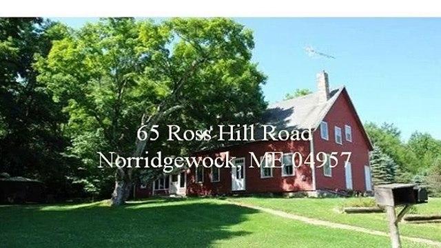 65 Ross Hill Road, Norridgewock, ME 04957
