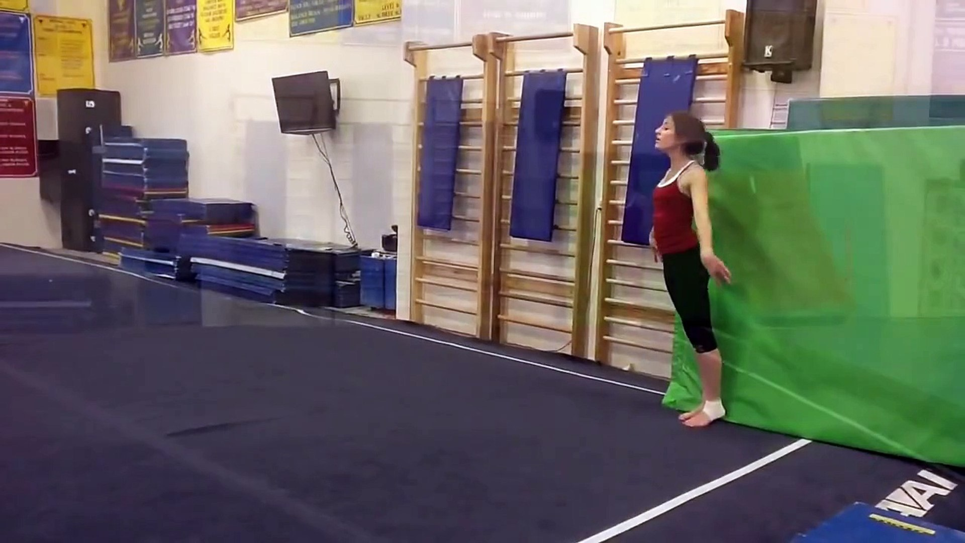 Floor Routine To Sail By Awolnation Video Dailymotion