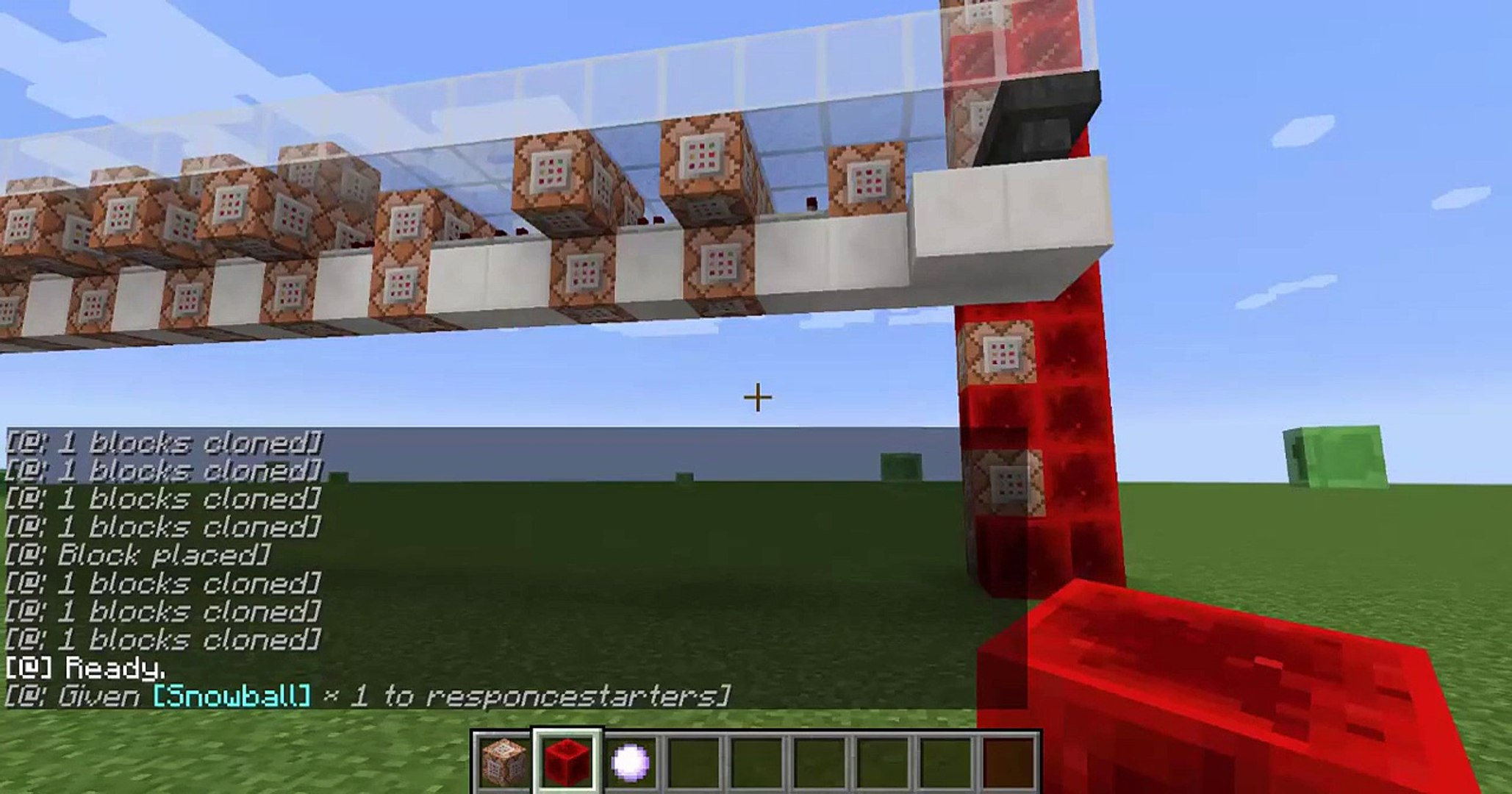 Minecraft Command block: Make a Village, City, and Mountain No Mods
