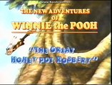 Opening To The New Adventures Of Winnie The Pooh:The Great Honey Pot Robbery 1989 VHS