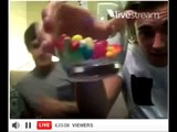 Niall Horan and Liam Payne from One Direction doing a Live WebCam Broadcast   Funny 1D Moments