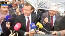 """Macron au Medef: """"Vous avez l'amour et vous avez les preuves d'amour"""""""