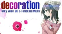 decoration (2016 Christmas JPOP Song) Silky Voice, GK & Tomokazu Miura