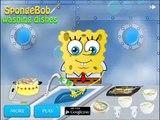 SongeBob N'Lave Vaisselle Jeu Amusant Épisode Pour Enfants, Jeux De Cartoon