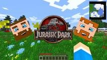 Minecraft: Jurassic Craft (Minecraft Modded Survival) Episode 1 A Jurassic Adventure
