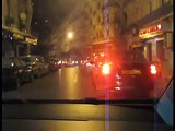 iDrive in Algiers by night Alger rue Didouche Mourad