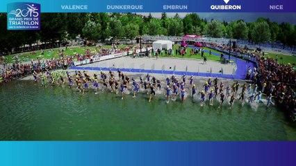 #GPFFTRI 2015 - 4e étape du Grand Prix de Triathlon pour la rechercher sur le cancer - Quiberon - 5 septembre 2015