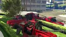 GTA 5 Online Funny Moments - Tow Truck Tornado Glitch & Aliens (GTA 5 Fun Jobs) Vanoss Gam