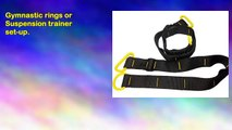 Olympic Gymnastic Rings Suspension Trainer Strength Gym Crossfit Training 2in1