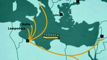 Les flux migratoires vers l'Europe