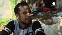 """Flüchtlinge vor Ungarns Zaun: """"Das Leben hört nicht auf. Es wartet nicht auf uns"""""""