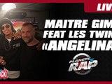 """Maitre Gims Feat. Les Twins """"Angelina"""" en live dans Planète Rap"""