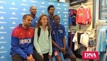 L'équipe de France de basket en dédicace à Strasbourg