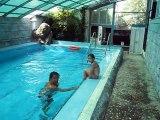 Tuana Erdinc kan  zwemmen