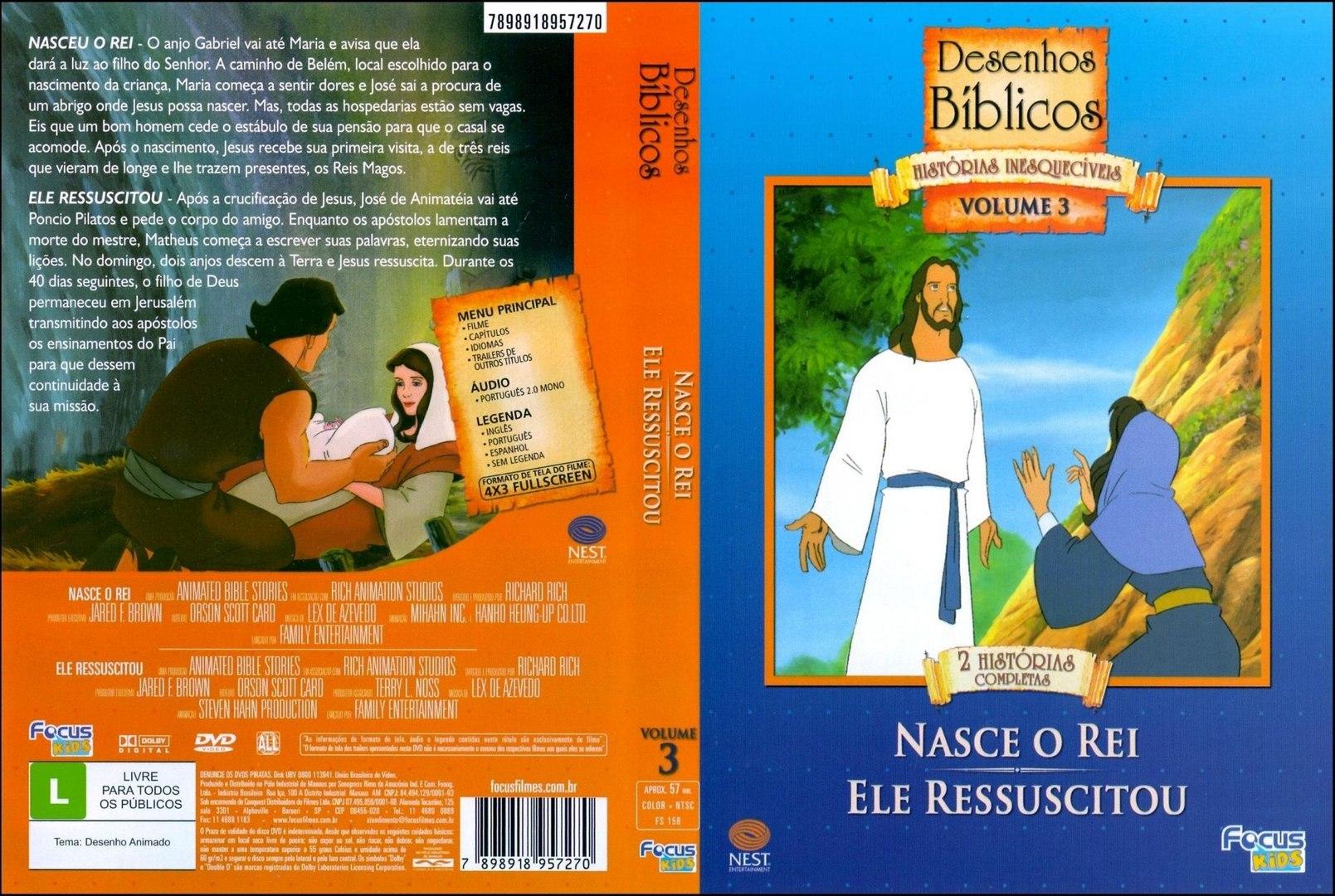 Desenho Biblico 05 Jesus Nasce O Rei Video Dailymotion