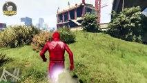"""MODS   GTA 5 - Courir comme Flash grâce au Mod """"Flash Run"""" !"""