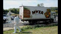 More than 70 cadavers found in refrigerated truck in Austria