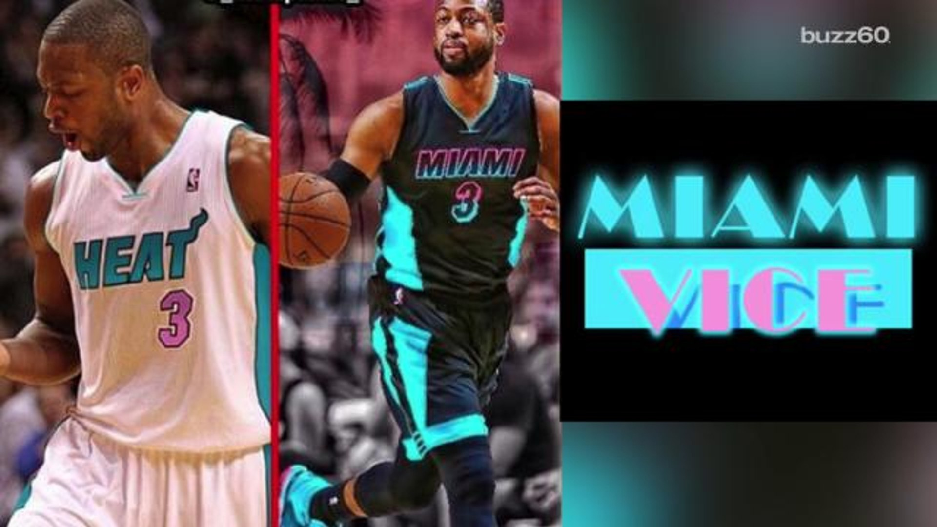 pretty nice 21077 9a5a5 Miami Heat jerseys could get 'Miami Vice' style re-vamp