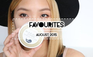 FAVES | August 2015 Beauty & Non-Beauty
