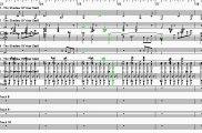 The Shadow Of Your Smile - Papetti Partitura Base Musicale Sax Tenore rigo 3