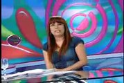 "MAGALY TV 03-09-2010 TATIANA ASTENGO LE DICE A MAGALY SOLIER ""INDIA"""
