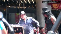 Charlie Sheen hilarious speech at guitarist Slash Walk Of Fame Ceremony insults Axl Rose