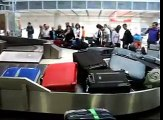 Funny baggage claim at Munich Airport