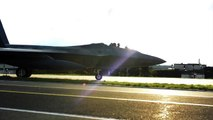 """F-22 Raptor Stealth """"First Ever European Training Deployment To Germany"""" HD"""