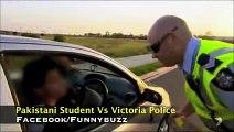 Australian Police (Victoria) vs Pakistani Students ' Very Hilarious English Conversation '