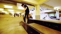 Julien Cudot - BackYard Skatepark - Blading Aggressive Inline Skating Rollerblading - USD Injuries