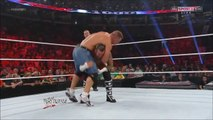 Rock Saved John Cena ANd Get Attacked By CM-Punk