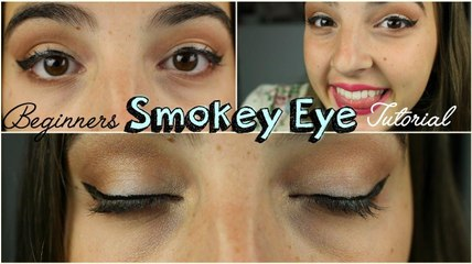 Beginners Smokey Eye Tutorial!
