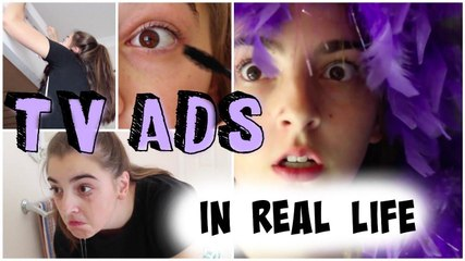 TV Ads in Real Life!!