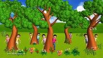 Ten Little Indians | 3D Nursery Rhymes | English Nursery Rhymes | Nursery Rhymes for Kids