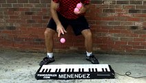 Worlds Fastest Piano Juggler!!! 2015