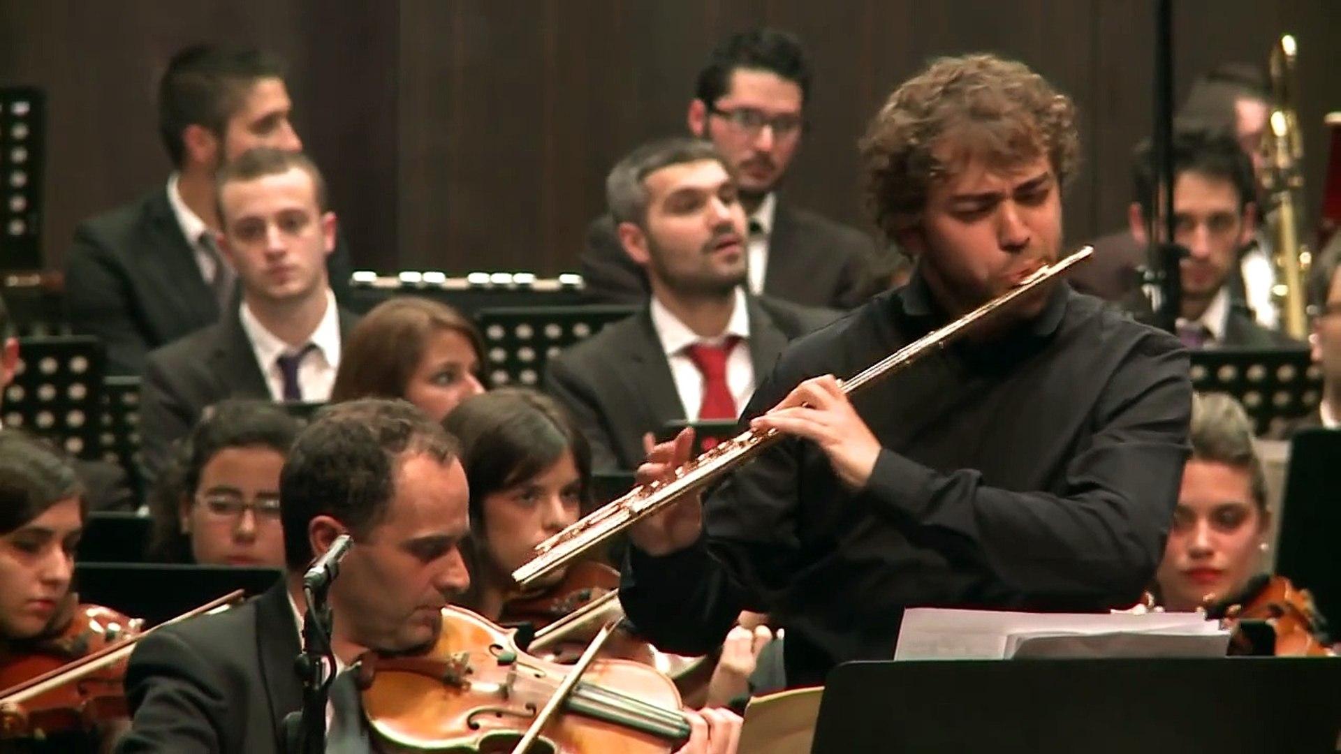 Astor Piazzolla: Oblivion. Orquesta Gaos, André Cebrián, flauta, Fernando Briones, director