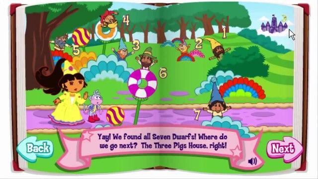 Dora The Explorer Dora's Fairytale Fiesta Animation Nick Jr Nickjr Game Play Gameplay