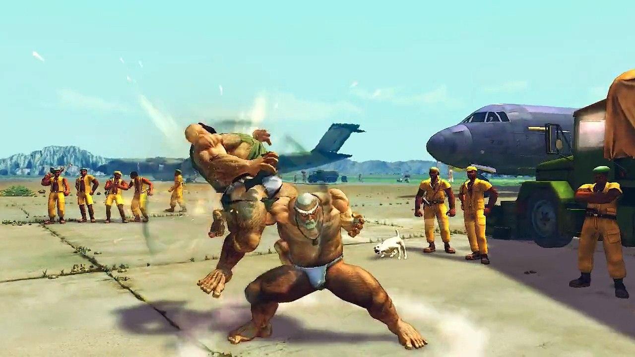 Ultra street fighter IV : Gouken(matsuri mod) vs Poison