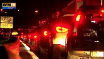 L'A1 bloquée par des gens du voyage, le retour des vacanciers bousculé
