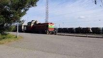 SACM MGO V16 BSHR diesel engine sound in Dv12 locomotive