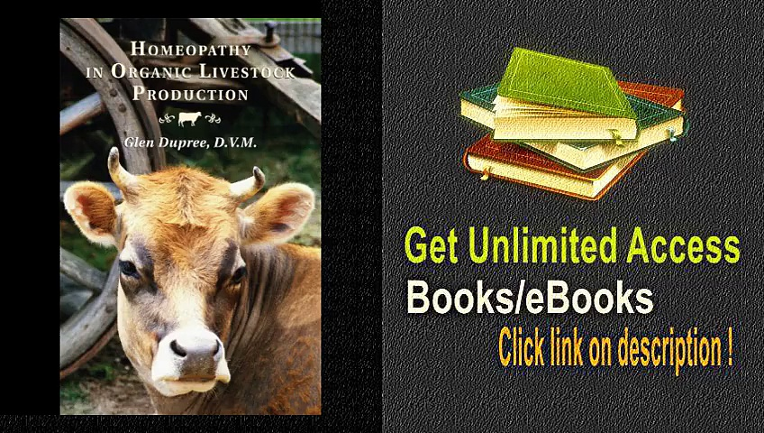 Homeopathy in Organic Livestock Production PDF