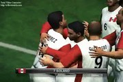 Peru campeon futbol PES 2010 winning eleven fifa copa mundial