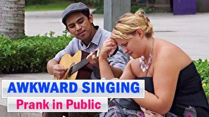 Awkward Singing Prank in Public | Prank Asia