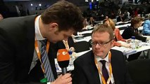 heute-show: Lutz van der Horst auf dem CDU-Parteitag