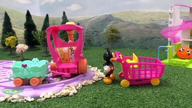 UNBELIEVABLE!!     MLP Play Doh Shopkins Disney Mickey Mouse Surprise Egg Fruit Minn Amazing!!! - HD