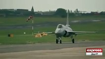 JF 17 Thunder - Pakistan Air Force in France air show