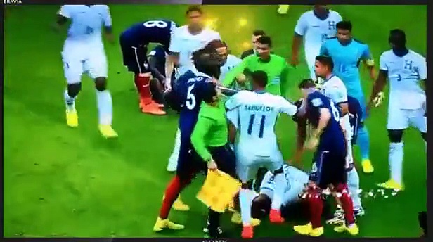 Football Fights of 2014   2015   Fights, Brawl, Fouls, Red Cards HD