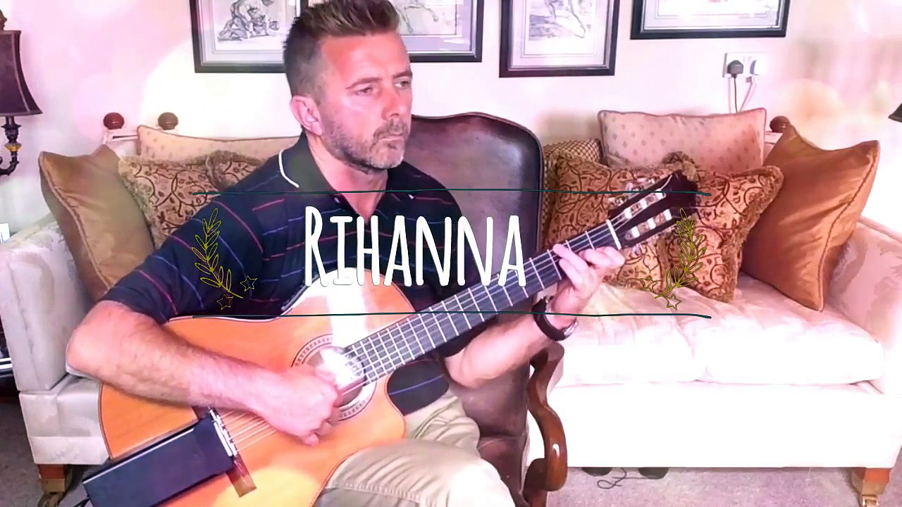 Rihanna – Stay – Acoustic Classical Guitar Cover (TABS)