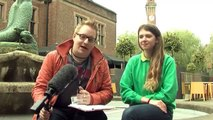 University of Birmingham Open Day - live from Guild of Students